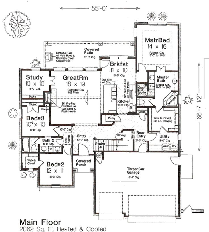 83 best Floor plans images on Pinterest | Dream house plans, House ...