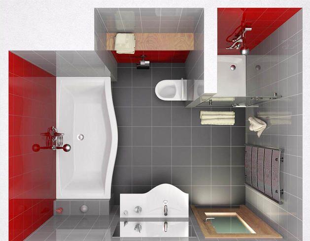 Совмещённый санузел: 10 удачных идей зонирования