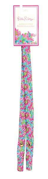 Lilly Pulitzer - Sunglass Strap - Trippin and Sippin