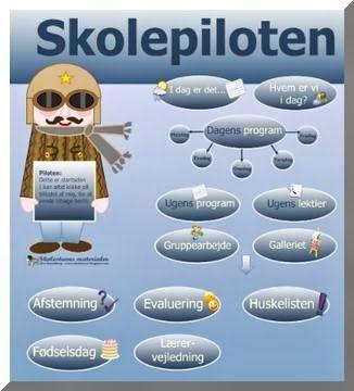 Skolestuen: Skolepiloten - Klassens interaktive værktøjskasse - Ny Smartboard-aktivitet fra Skolestuen - Classroom Management på dansk