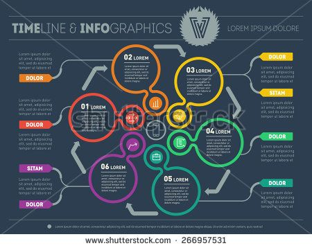 Best 25 circle diagram ideas on pinterest geometric graphic web template for circle diagram or presentation business concept with six options vector infographic ccuart Image collections