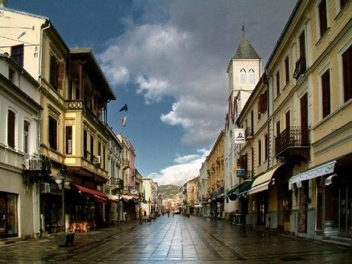 Sirok Sokak, Bitola, Makedonija This pedestrian only strip is only minutes from our house... Can't wait