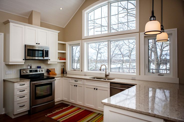 Custom Kitchen - Carling Bay Cottage - Parry Sound/Muskoka - Cedarland Homes - www.cedarlandhomes.ca