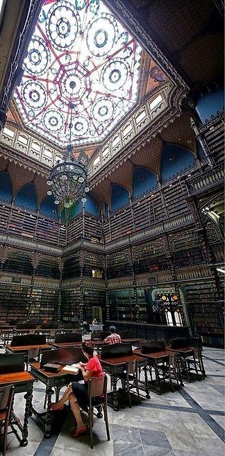 Real Gabinete Português de Leitura - Rio de Janeiro, Brasil | 49 de tirar o fôlego bibliotecas de todo o mundo