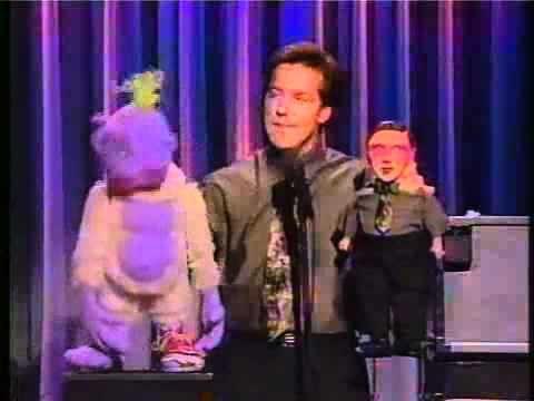 Jeff Dunham w Peanut, Jose Jalepeno & Jeff doll