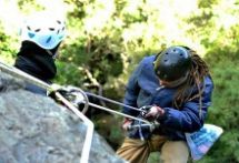 Abseiling in Hogsback, South Africa with Hogsback Adventures
