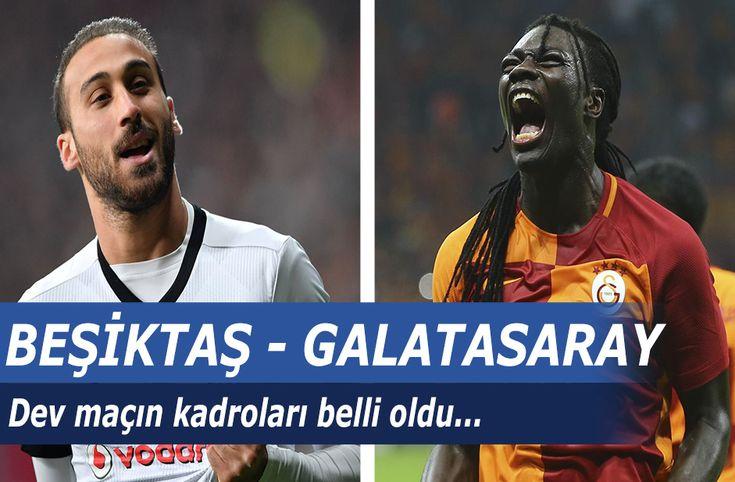 Beşiktaş - Galatasaray maçında kadrolar belli oldu - Süper Lig'in 14. hafta karşılaşmasında karşı karşıya gelecek olan Beşiktaş ve Galatasaray takımlarının sahaya çıkacakları ilk 11'ler belli oldu. 2 Aralık 2017 Cumartesi günü oynanacak mücadelede takımlar sahaya şu kadrolar ile çıkacak.  Beşiktaş ilk 11:Fabri, Gökhan, Pepe, Tosic, Adriano, Tolgay - http://bit.ly/2ADubr6