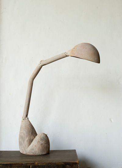 // wooden Light / Toshiro Abiko