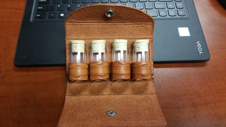 Leather spice kit