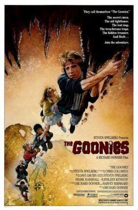 Goonies Movie poster Metal Sign Wall Art 8in x 12in