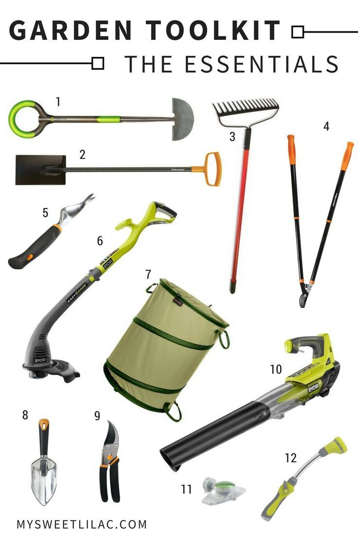 Our Garden Toolkit My Sweet Lilac Landscaping Tools Garden