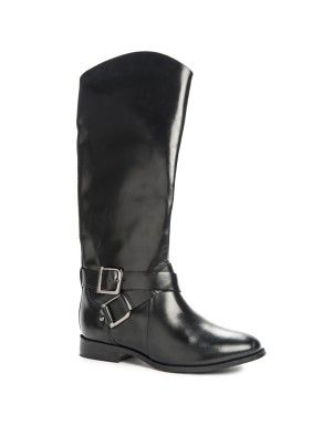 Buckle Trim Long Boots | Woolworths.co.za