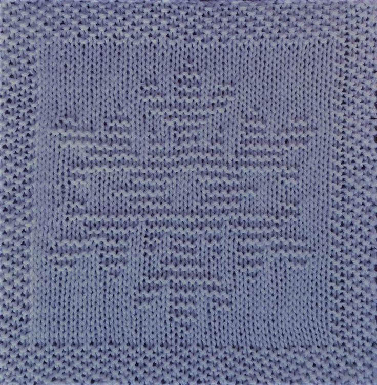 Free Snowflake Dishcloth or Afghan Square Knitting Pattern ...