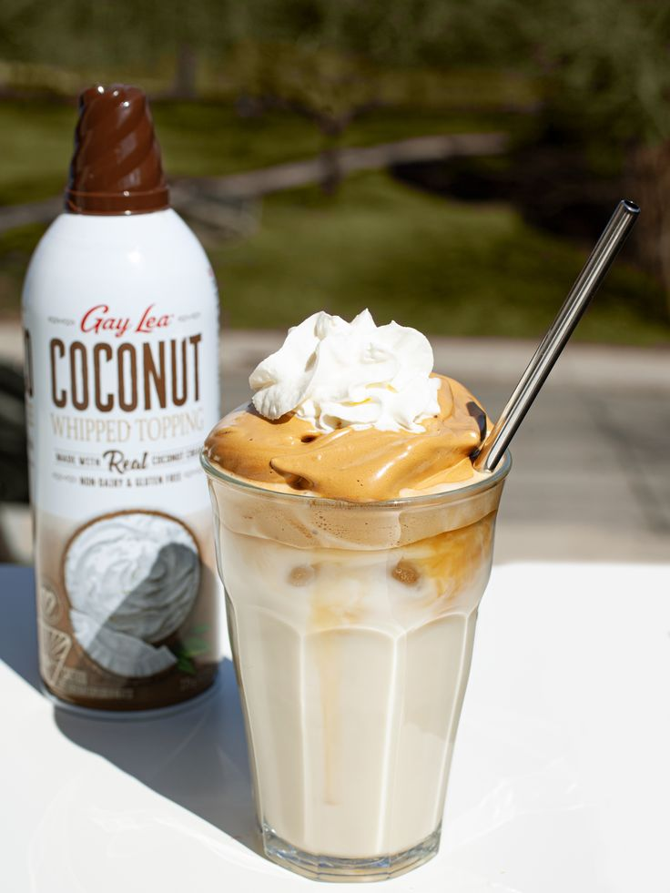 Whipped Coffee Coconut Whipped Topping in 2020 Coconut