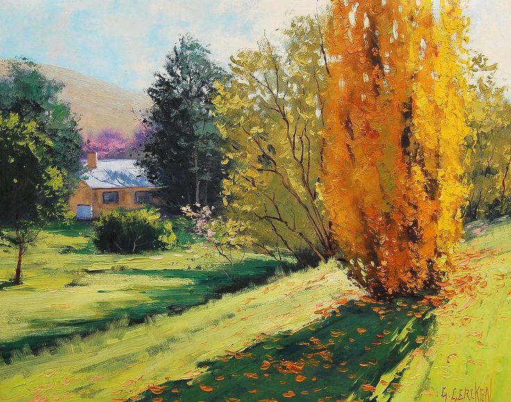 Autumn in Carcor, Australia by artsaus on DeviantArt