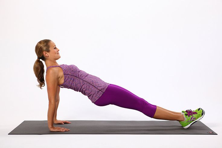 Plank Challenge. 3. Reverse Plank:  Balance the body on the hands and heels with the body in one straight line.