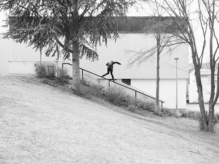 Olav Norheim. Backside. Mannheim 2013.