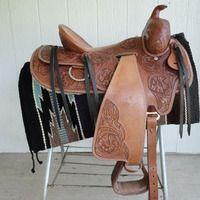 "Western Saddlery 16"" Roping Saddle for sale in Winona, Minnesota :: HorseClicks $350"