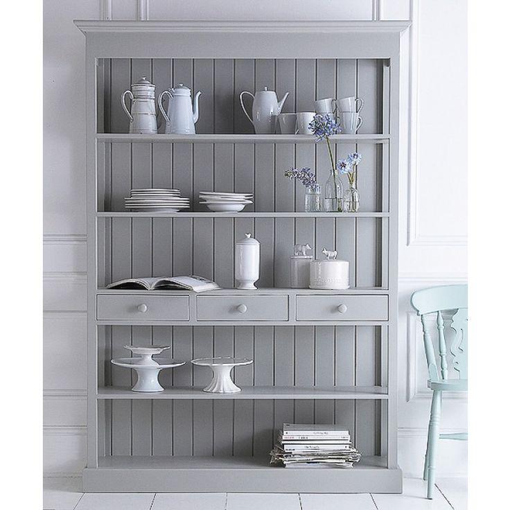 Открытый шкаф Landry III - Книжные шкафы, витрины, библиотеки - Гостиная и кабинет - Мебель по комнатам My Little France