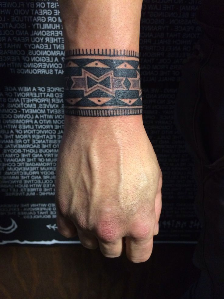 Native American Wrist Tattoos : native, american, wrist, tattoos, Épinglé, Tatouage, Homme