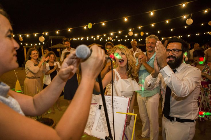 Enjoy your wedding party with live music #weddingparty #mythosweddings #kefalonia