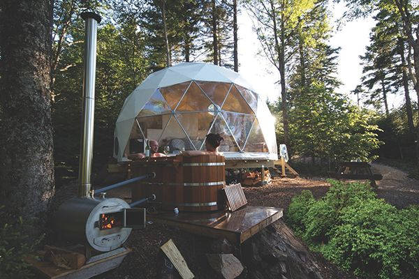 Not a fan of roughing it in the wilderness? From posh tents to tree houses, here's where to go glamping in Canada to enjoy the great outdoors in comfort.