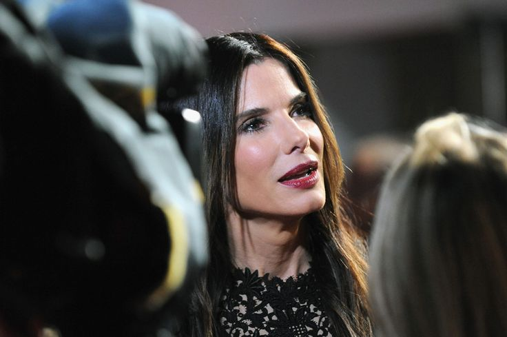 Sandra Bullock at the London Film Festival premiere of Gravity