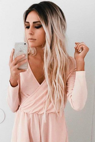 Zweifarbige Haarfarbe: 18 Beste Zweifarbige Frisuren-Ideen #beste #frisuren #ha …