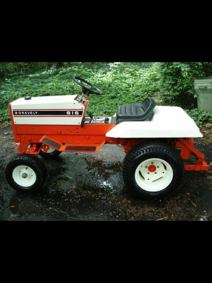 17 Best Images About Gravely Lawn And Garden Tractors On