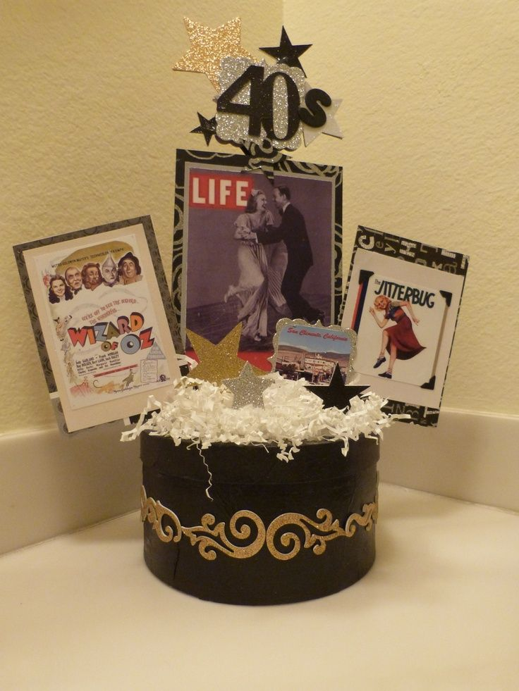 Vintage 1940 birthday party ideas 1940 39 s love it for 1940s party decoration ideas