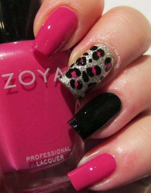 It's all about the polish: AN Monday - Leopard theme