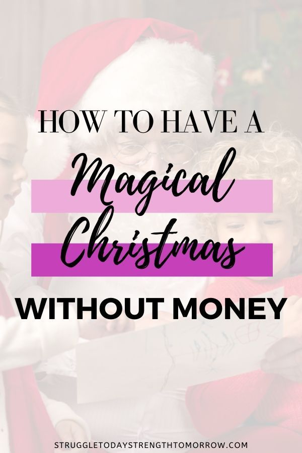 How In Debt Are People This Christmas 2020 How to have a magical Christmas without money in 2020 | Financial