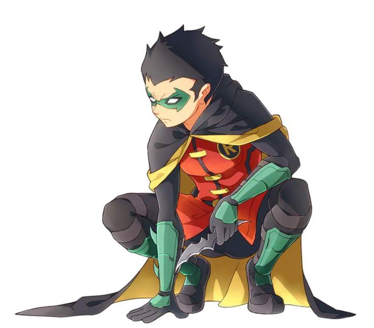 Damian wayne Robin by MayanTimeGod on DeviantArt