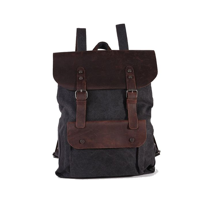 Createreedo®unisex Canvas Travel Rucksack Backpack ** Remarkable product available now. : Backpacks for hiking