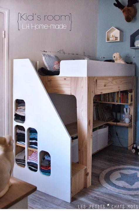 83 best enfants et ados images on pinterest bedrooms for Chambre 8m2 deco