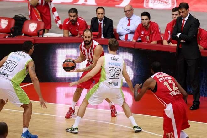 Vassilis Spanoulis --Olympiacos Piraeus