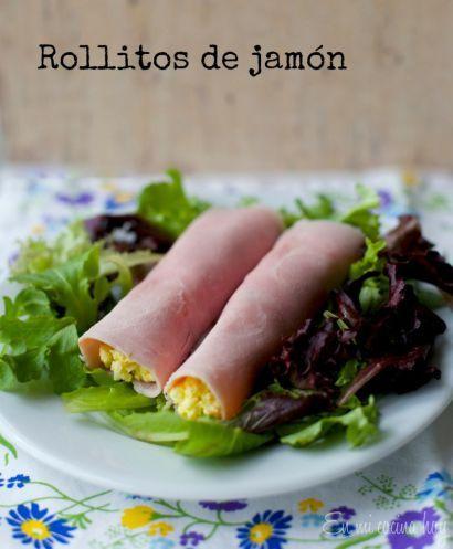 Rollitos de jamón, entrada chilena / Ham rolls | En mi cocina hoy