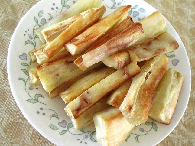 Oven Roasted Yucca Roots