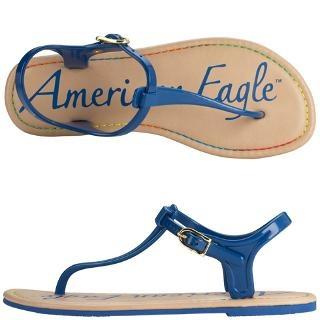 Women's American Eagle Sunscreen Jelly Sandal Payless Shoe Source