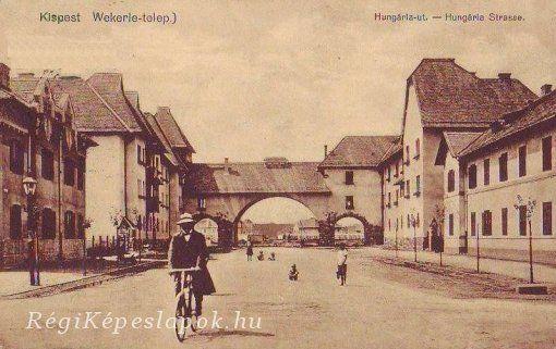 Kispest - Wekerle-telep, Hungária út
