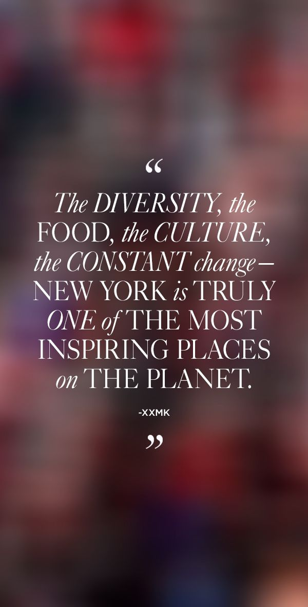 """""""The diversity, the food, the culture, the constant change that is at its core—New York is truly one of the most inspiring places on the planet."""" – xxMK #MKNewYorkCity"""