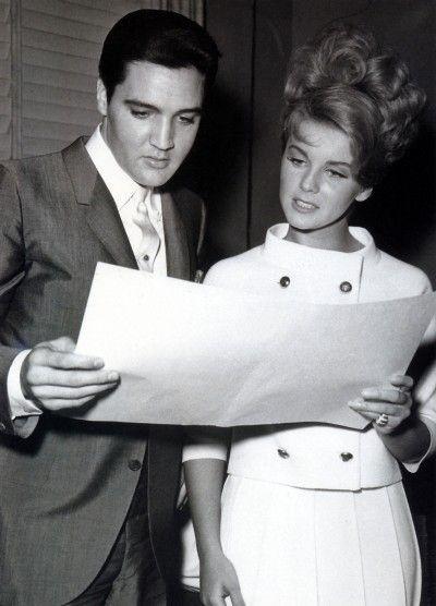 Elvis Presley and Ann Margret