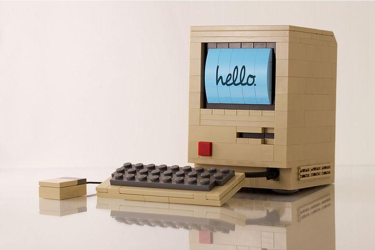 Macintosh original LEGO by Chris Mcveigh