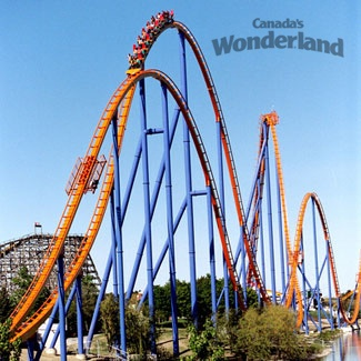 Wonderland tickets | Hit up Canada's Wonderland for some of the world's most thrilling coasters! Redeem for this product with reward miles! #airmiles #canadaday
