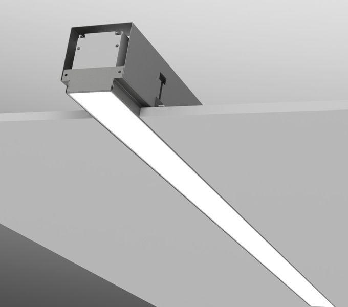 Luminaria LED para empotrar de aluminio de extrusión
