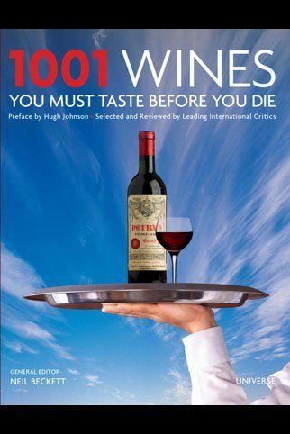 1001 Wines You Must Taste Before You Die Book.