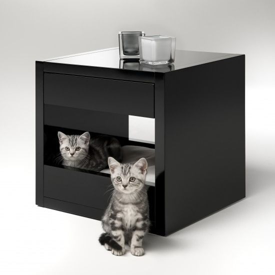 Functional pet shelters: Cat Beds, Cat Furniture, Binq Design, Kitty Beds, Beds Tables, Pet Beds, Cat Stuff, Cat House, Cat Shelters
