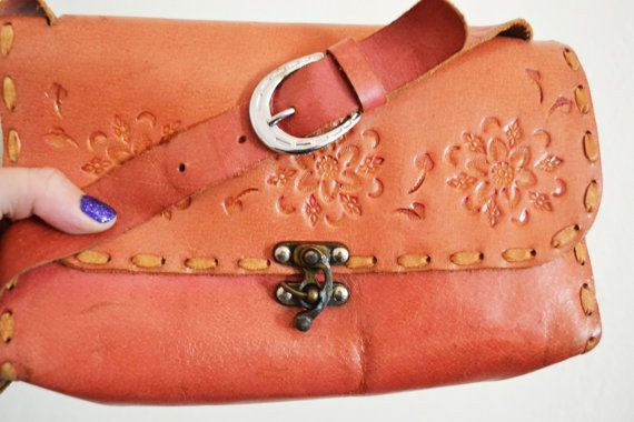 Free Ship Slightly Distressed Tooled Leather by crazygoodbananas