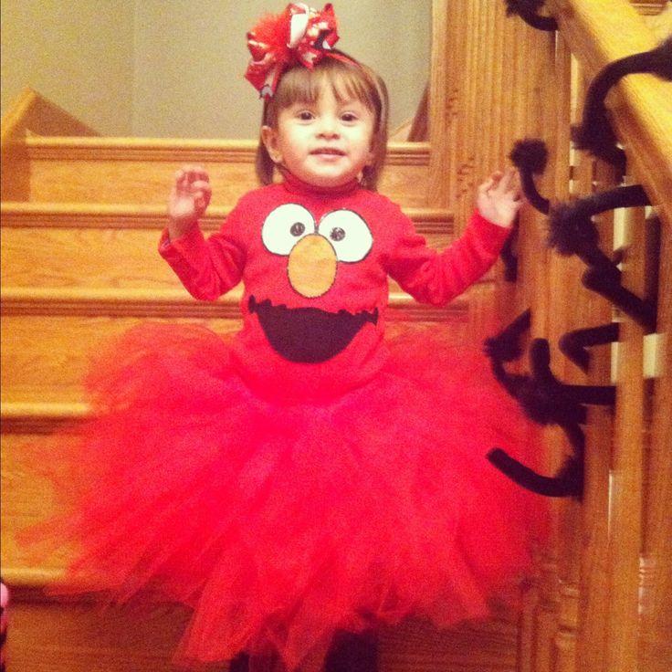 little girl diy elmo tutu costume - Halloween Costumes Elmo