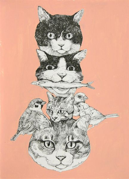 Yuko Tower of Kitty heads